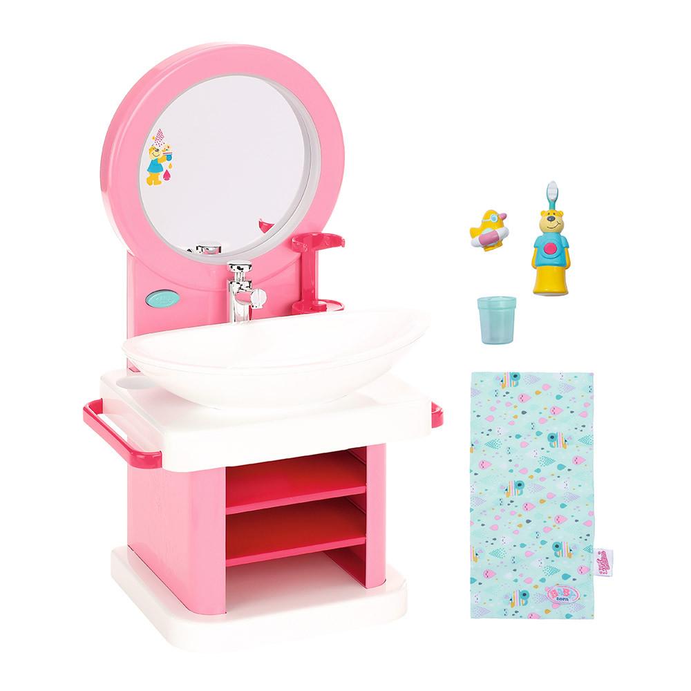Интерактивный умывальник для куклы Baby Born - Водные забавы (звук и свет), Zapf Creation 3+ (827093)