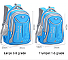 Рюкзак школьный YAZLONG унисекс темно синий, фото 3