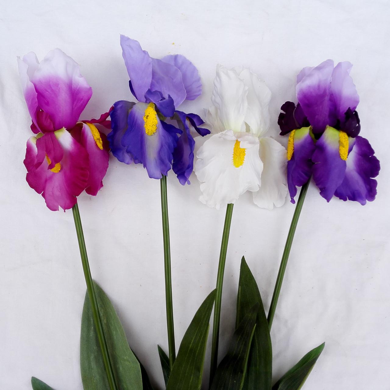 Цветы петушки гребешки, ирисы 70 см( 4 шт. в уп)
