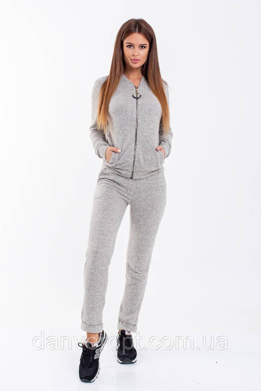 Костюм женский стильный модный ангора размер 42-48, купить оптом со склада 7км Одесса