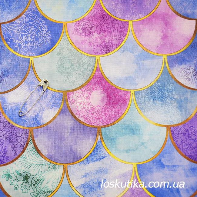 49001 Цветной узор.Ткани для пэчворка, трапунто, и для художественной стежки.