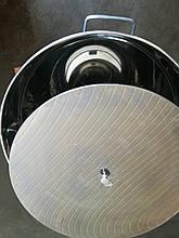 Бак (отстойник) для фасовки меда нержавеющий 55л кран н/ж