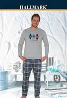 Пижама мужская Трикотаж (S,M,L,XL)