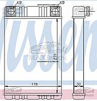 Радиатор печки салона MERCEDES C-CLASS W 203 (00-) Nissens 72028