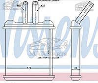 Радиатор печки салона LANOS/NUBIRA ALL 97- 1.3-1.6 Nissens 76502