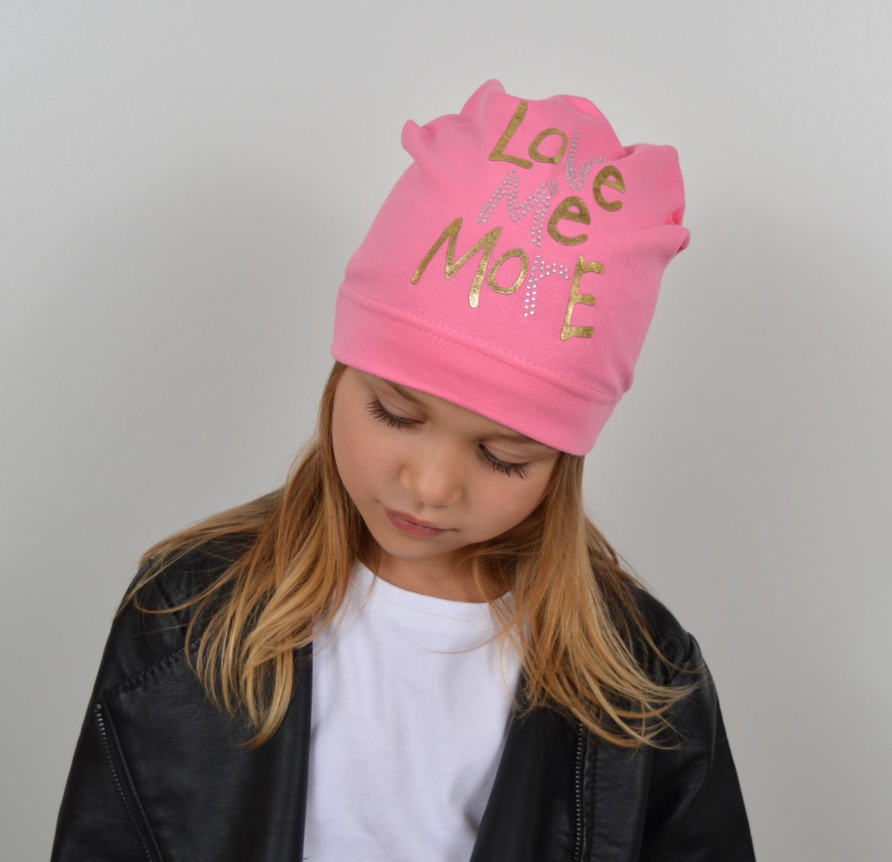 Модная шапка на весну для девочки оптом - Артикул 2233
