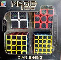 Подарочный набор Magic CUBE premium 4 кубика рубика