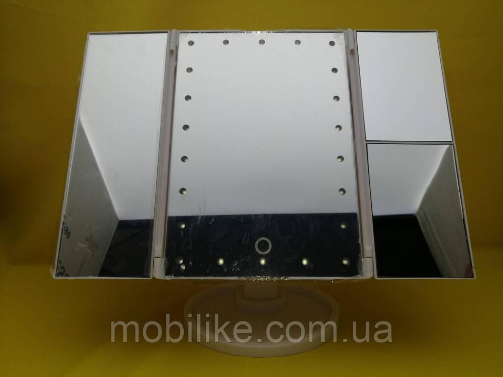 Настольное зеркало с LED-подсветкой