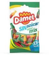 Желейные конфеты БЕЗ САХАРА Damel Sin azucar Sour Mix (кислый микс) Испания 100г