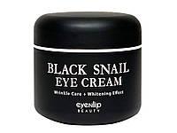 Крем для кожи вокруг глаз с экстрактом чёрной улитки EYENLIP Black Snail Eye Cream 50 ml, фото 1