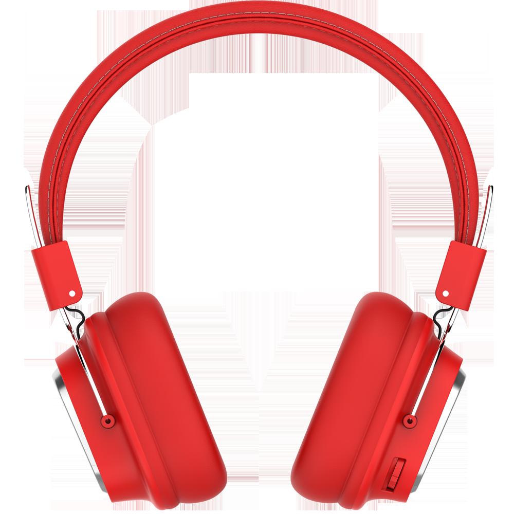 Бездротові навушники SODO SD-1003 накладні bluetooth навушники 250 mAh Червоний (SUN5198)