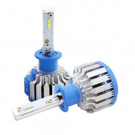 Светодиодные лампы LED H1 TurboLed T1 с обманкой