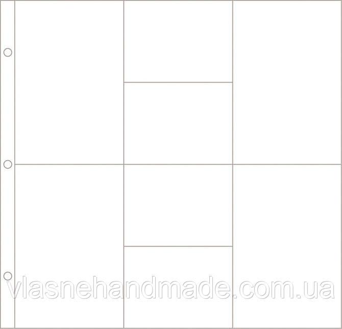 Сторінки для Project Life - Design D - 30x30 - 12 шт.