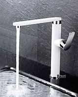 Смеситель для кухни белый  1-117, фото 1