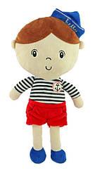 Плюшевая кукла мальчик моряк Baby Mix STK-18071 Boy