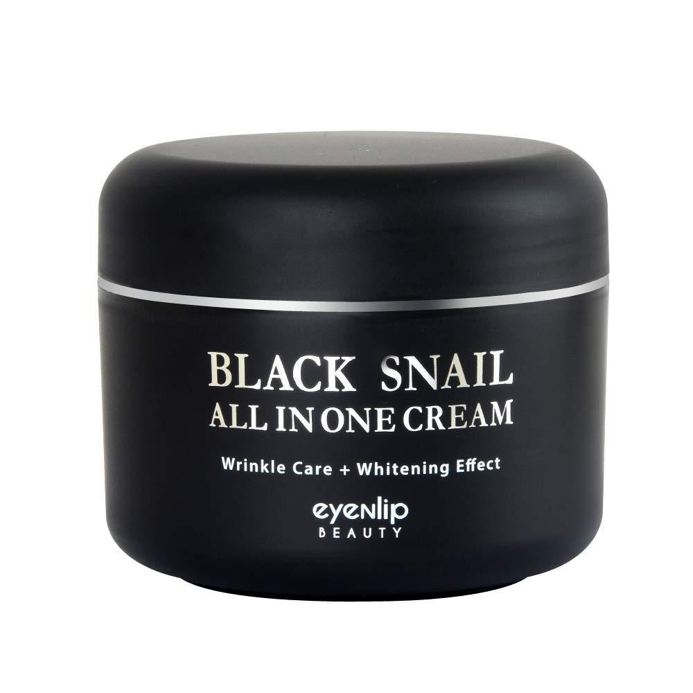 Крем для лица с экстрактом чёрной улитки EYENLIP Black Snail All In One Cream 100 ml