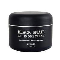 Крем для лица с экстрактом чёрной улитки EYENLIP Black Snail All In One Cream 100 ml, фото 1