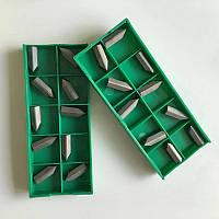Токарные пластины резьбовые JCL15-120 (60°) (сплав Т15К6), 10 шт, для резцов с державками 8,10,12 мм