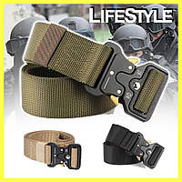 Тактический нейлоновый ремень Tactical Belt 145 см