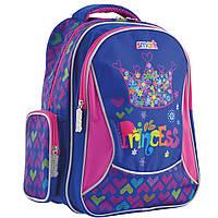 Рюкзак шкільний Smart ZZ-02 Cool Princess Фіолетовий