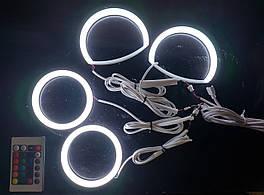 Ангельські глазки (кільця підсвічування) LED Cotton RGB для Mazda CX-7