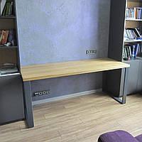 Обеденный стол LNK-LOFT из натурального дерева 1200*800*750