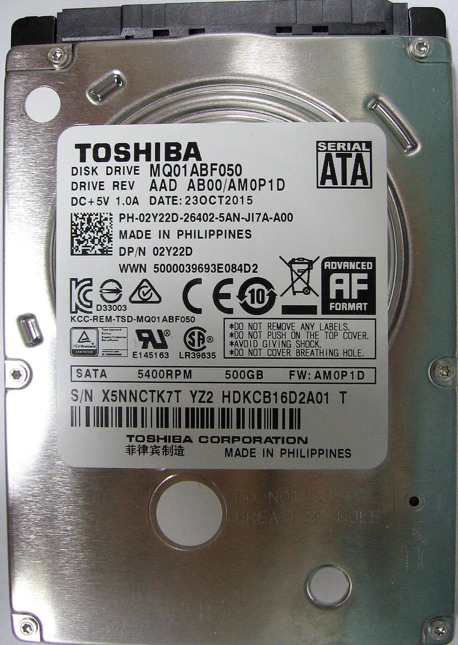 HDD 500GB 5400rpm 8MB SATA III 2.5 Slim Toshiba MQ01ABF050 X5NNCTK7TYZ2