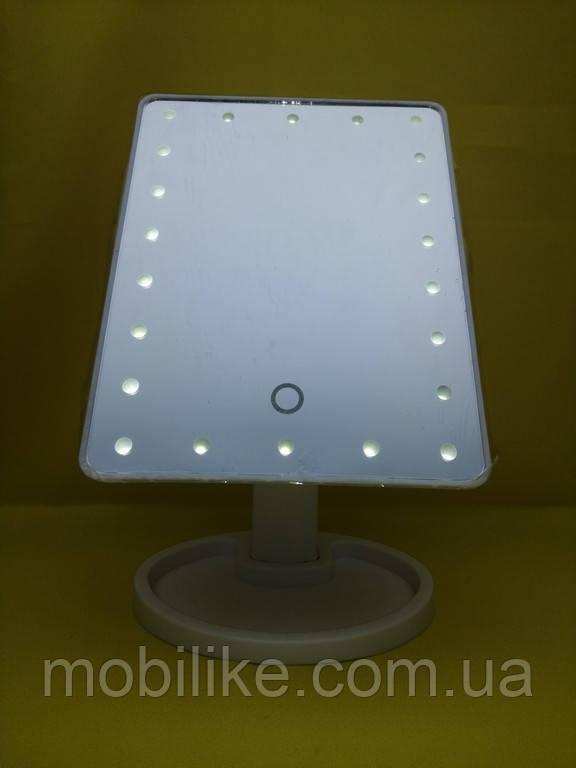 Настольное зеркало с LED-подсветкой (Прямоугольное)