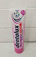 Детскийзубной гель Dentalux kids Erdbeere (клубника) от 0 до 6 лет 100 мл (Германия)