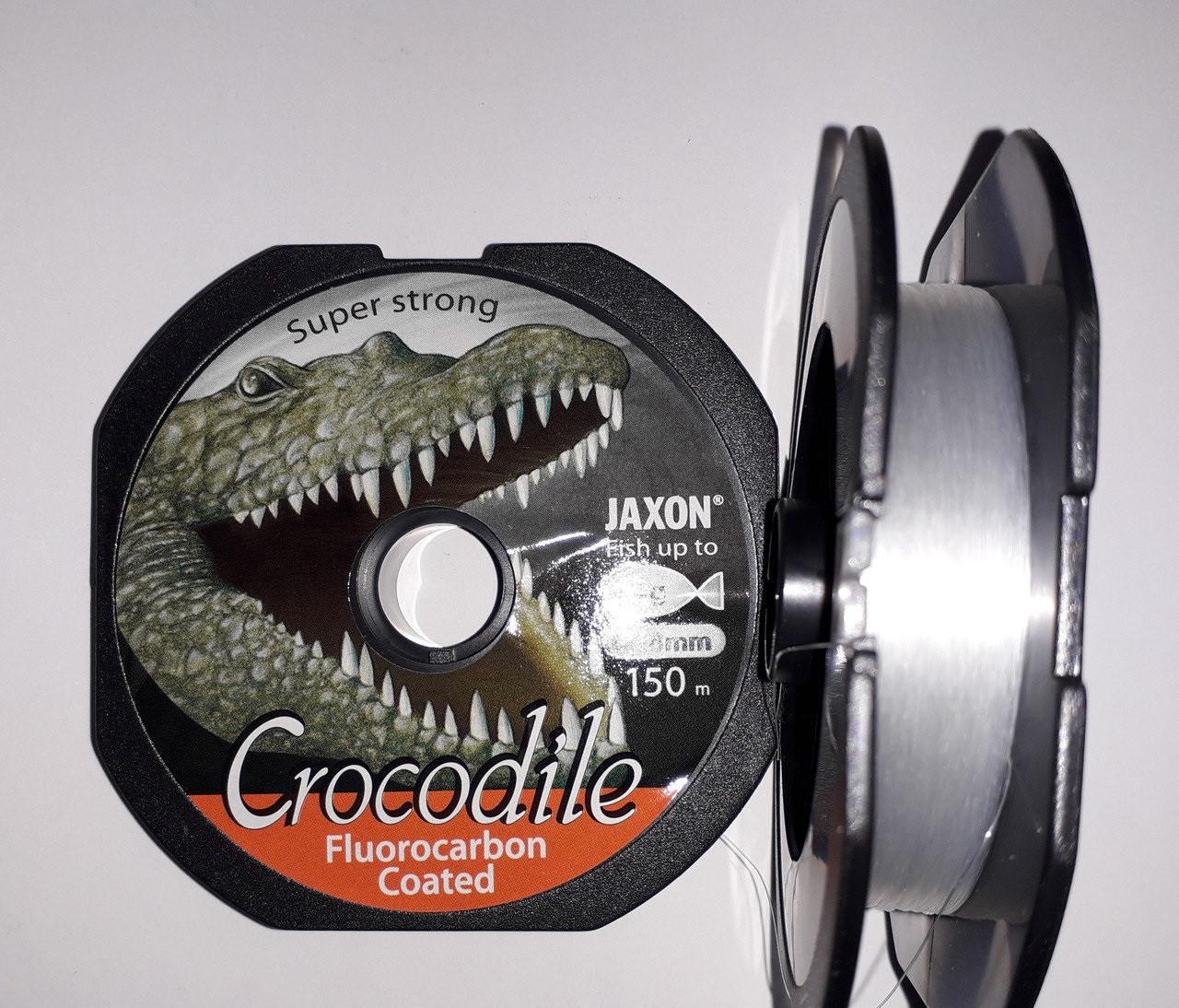 Леска JAXON CROCODILE FLUOROCARBON COATED 0,27mm 150m