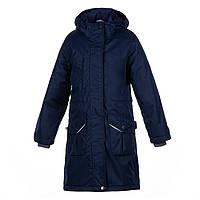 Парка куртка женская Huppa MOONI тёмно-синяя 70086 XS