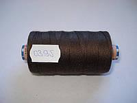 Нитка AMANN Saba c №30 300м.col 0395 коричневый (шт.)