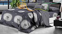 """Комплект постельного белья из ранфорса ТМ """"Ловец снов"""", Одуванчик контраст"""