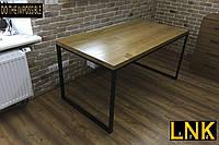 Обеденный стол LNK-LOFT из натурального дерева 1200*800*750, фото 1