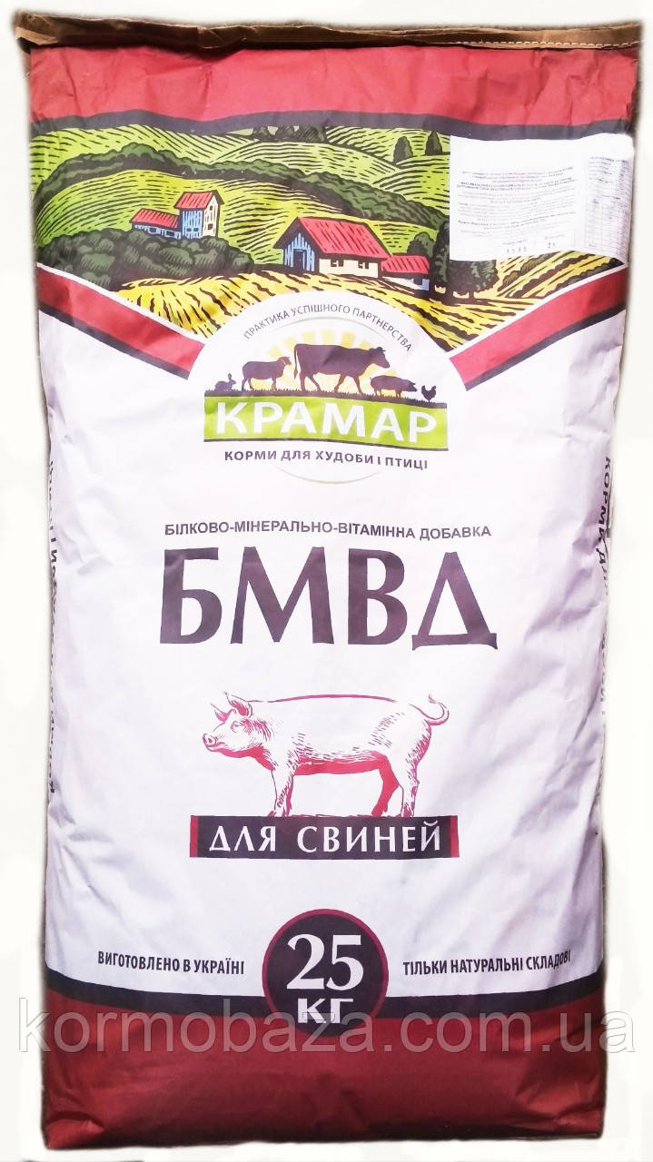 Добавка БМВД для свиней гровер 91-136 дней Крамар СК-21 15%