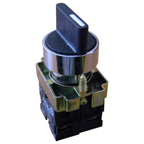 XB2-BD41 Кнопка поворотная 2-х поз. с самовозвр. Станд. ручка