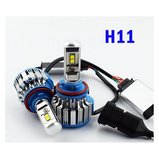 Світлодіодні автомобільні лампи T1-H11 Turbo Led