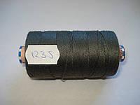 Нитка AMANN Saba c №30 300м.col 1235 т.серый (шт.)