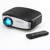 🔥 Портативный проектор LED Projector С6 с динамиком. Мультимедийный LED-проектор С6 с динамиком