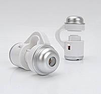 Об'єктив-мікроскоп SUNROZ Cellular Phone Zoom Lens лінза на камеру смартфона 30x Білий (SUN5201)