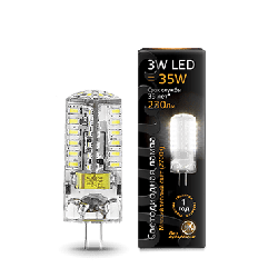 Лампа Gauss LED G4 AC150-265V 3W 2700K