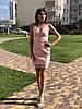 Женское платье из кож зама Poliit 8375
