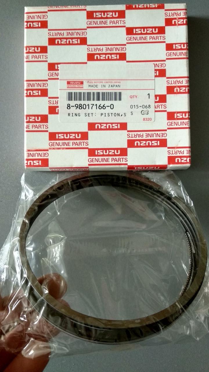 Поршневые кольца двигателя Isuzu 4HK1 6HK1 8980171660 8943915024 8943915021 8943915022 8943915023 02/801841