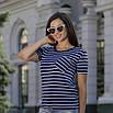 Женская футболка в полоску, фото 4
