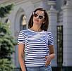 Женская футболка в полоску, фото 5