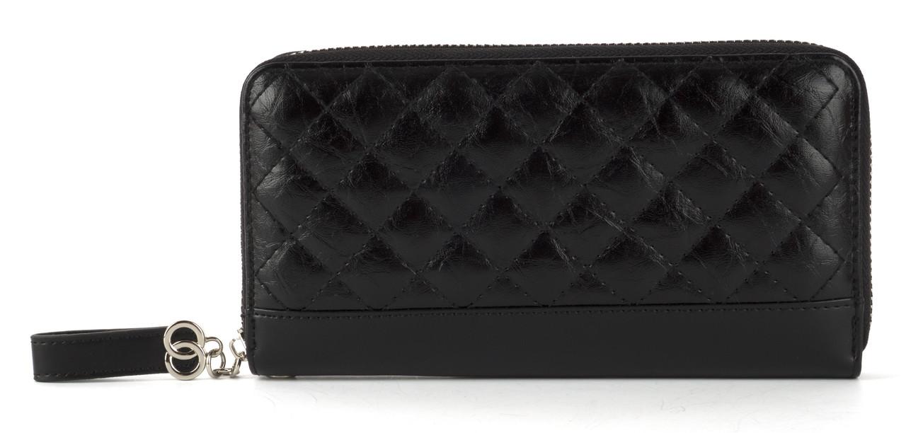 Женский стеганый кошелек барсетка из эко кожи FUERDANNI art. 9624-042