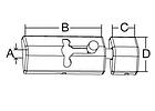 Задвижка Deluxe Barrel, фото 4