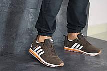 Кроссовки мужские Adidas, коричневые, фото 3