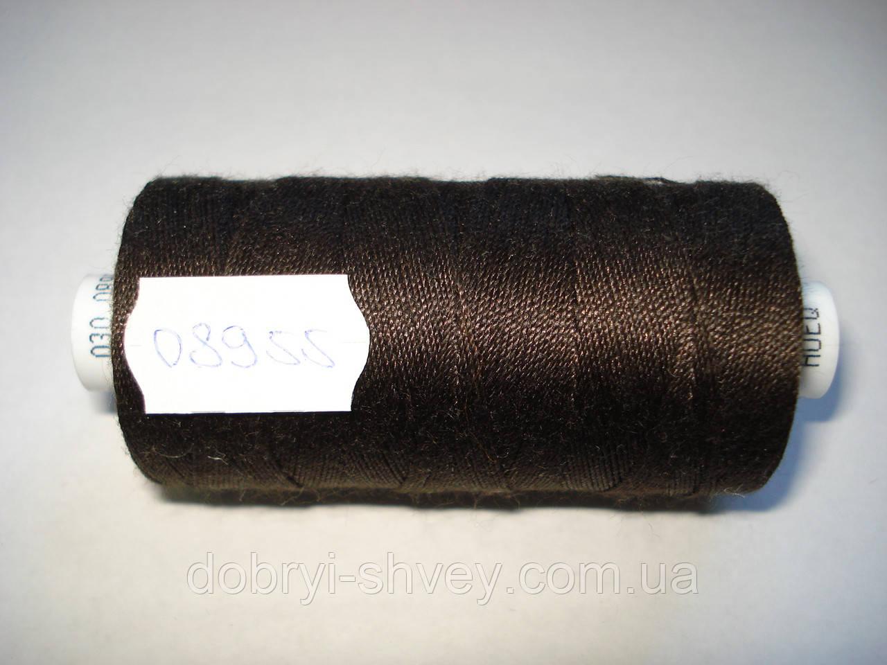 Нитка Coats EPIC №30 300м.col 08955 т.коричневый (шт.)