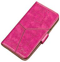 Кожаный чехол-книжка Ktry с визитницей для Meizu Note 8